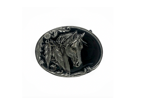 Feather Horse | Buckle
