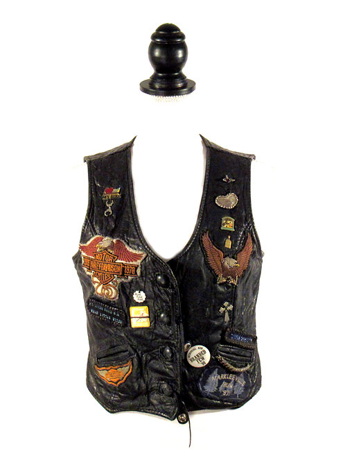 Custom Women's Motorcycle | Vest