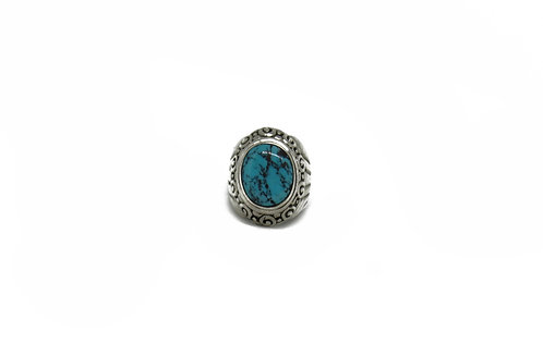 Turquoise | Filigree Ring