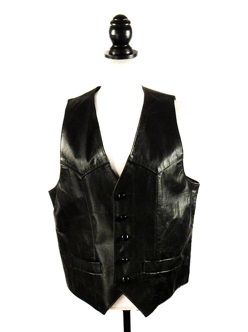 Diamond Leathers Basic Black | Vest
