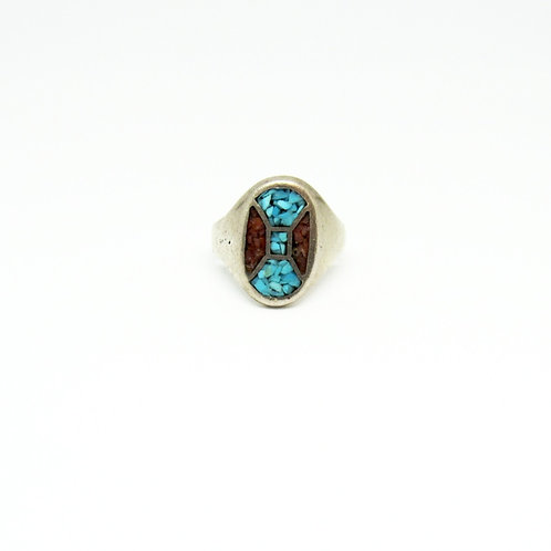 Vintage Pieced Stone Ring