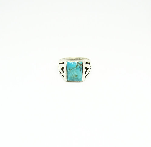 Vintage Ring Rectangle Stone