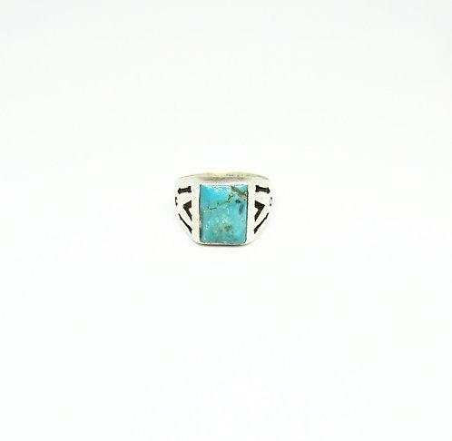Vintage Ring Rectangle Stone