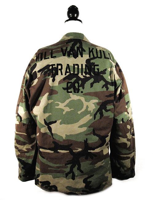 Upcycled KVK Camo | Fatigue Shirt