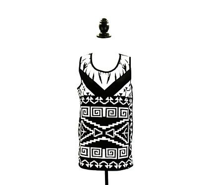 Aztec Design | Long Tank