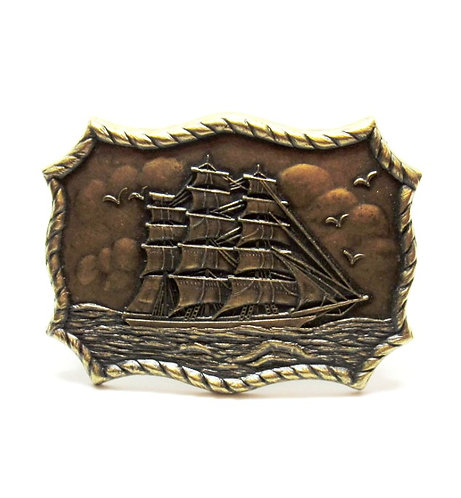 Clipper Ship | Rope Buckle