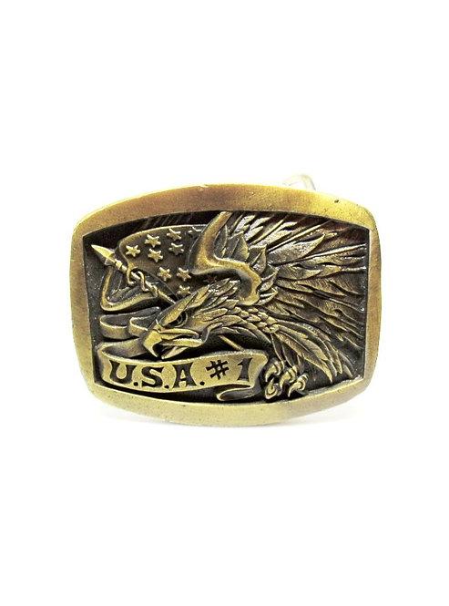 USA #1 Eagle | Flag Buckle