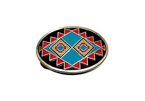 Aztec Design Buckle
