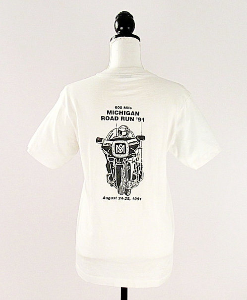 Michigan Road Run 91' | T-Shirt