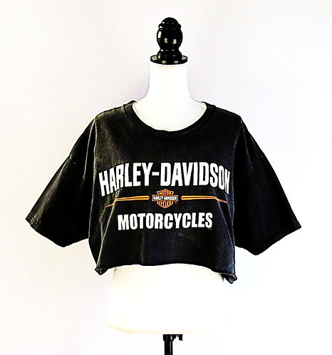 Harley Davidson | Route 66 | Cropped T-Shirt