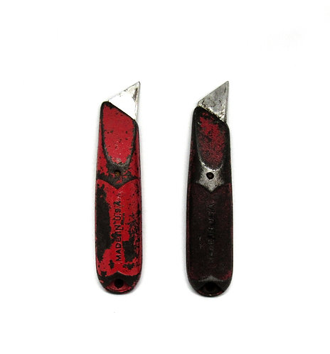 Vintage His and Hers   Utility Knives