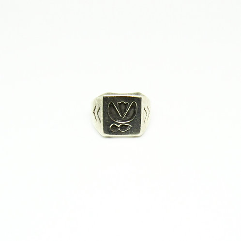 Vintage Tulip Ring