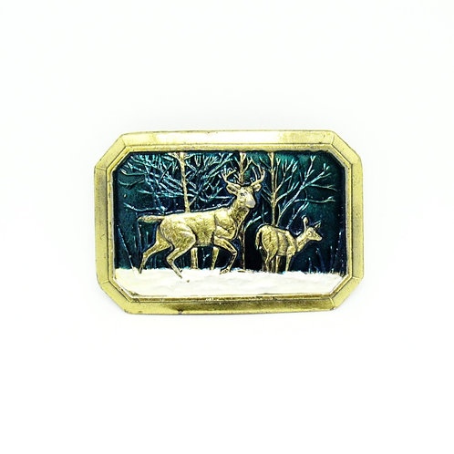 Deer | Woods Buckle