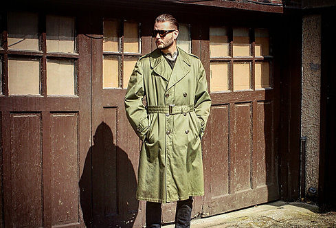 Military Full Length | Trench Coat