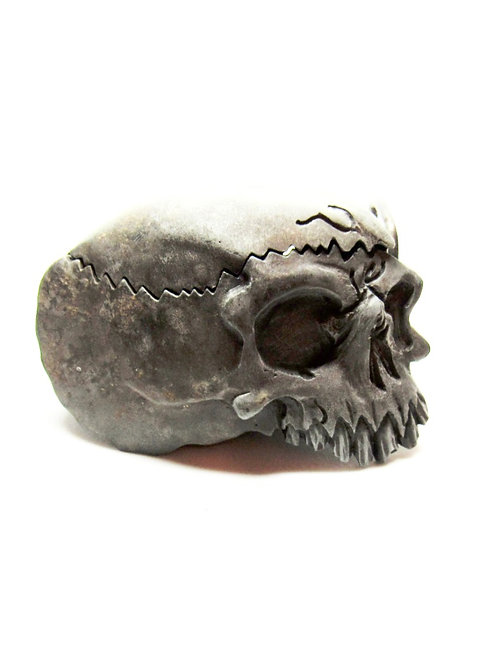 Cracked Skull Buckle