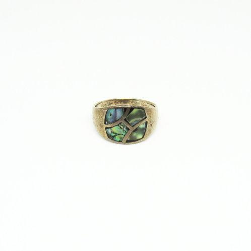 Vintage 5-Tile Ring