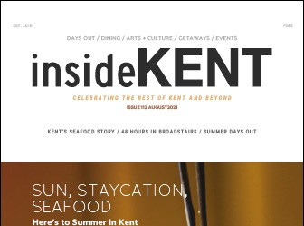 Read the article about me in insideKENT!