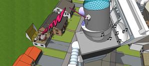 Bass Bot Fights Suburban Death Beam