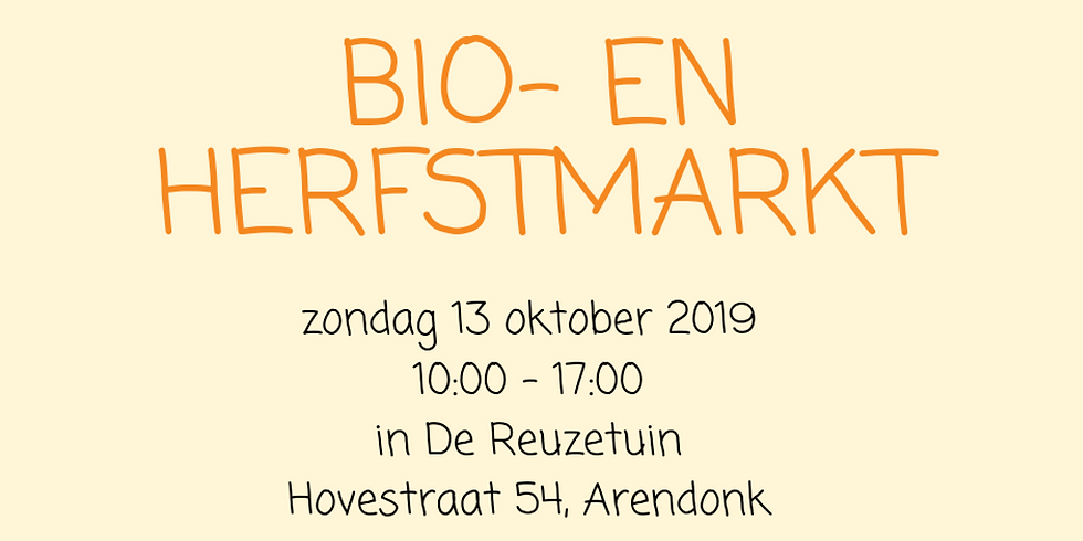Bio- en Herfstmarkt - Vzw De Reuzetuin