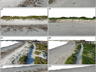 Unmanned Aerial Vehicle Shoreline Change Project
