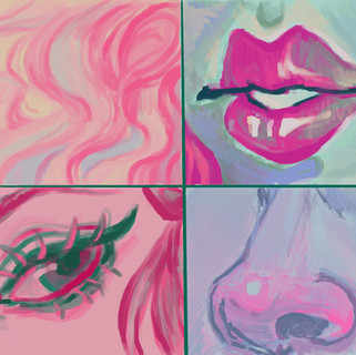 palette study