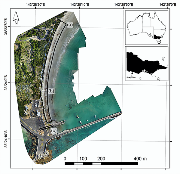 Unmanned Aerial Vehicle Shoreline Change Project | marinemapping