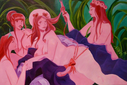 She's gone to the otherside, hanging with them hearty girls (Metamorphosis)