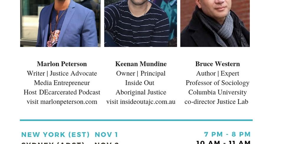 Be Precedential Presents:  DEcarcerated Borderless Justice: Focus Australia