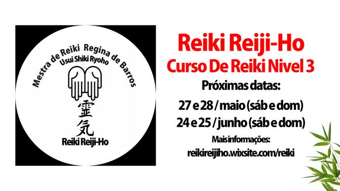 CURSO DE REIKI NÍVEL 3