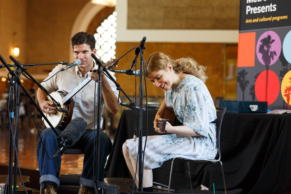 Frank Fairfield & Meredith Axelrod Union Station Los Angeles