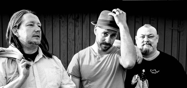 Will West & Groovy Wallpaper aka Skip vonKuske & Don Henson. Photo by Tim Gunther