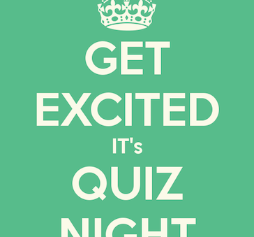 Quiz Night is on again!