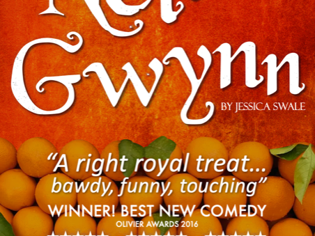 "New dates confirmed for ""Nell Gwynn"""