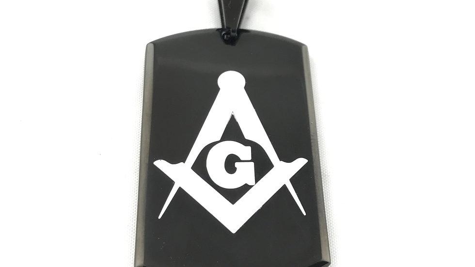 Freemason Dogtag Pendant 1