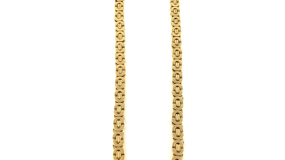 Gold Flat Byzantine