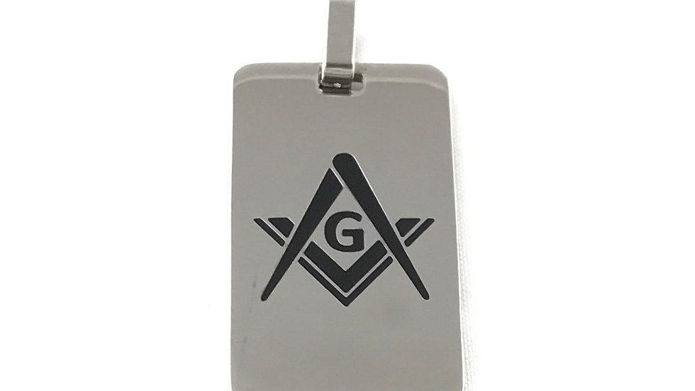 Freemason Dogtag Pendant 7