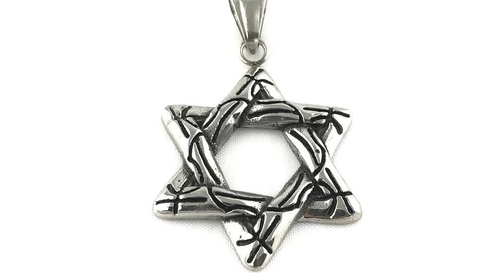 Star of David Pendant 1