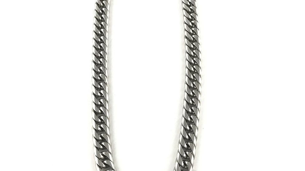 Silver 16MM Shaved Cuban Links