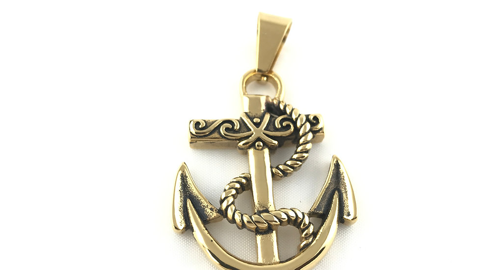 Anchor Pendant 16