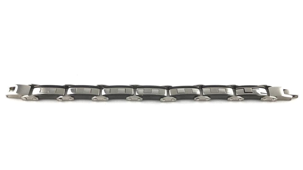 Silver/Black Bracelet 3