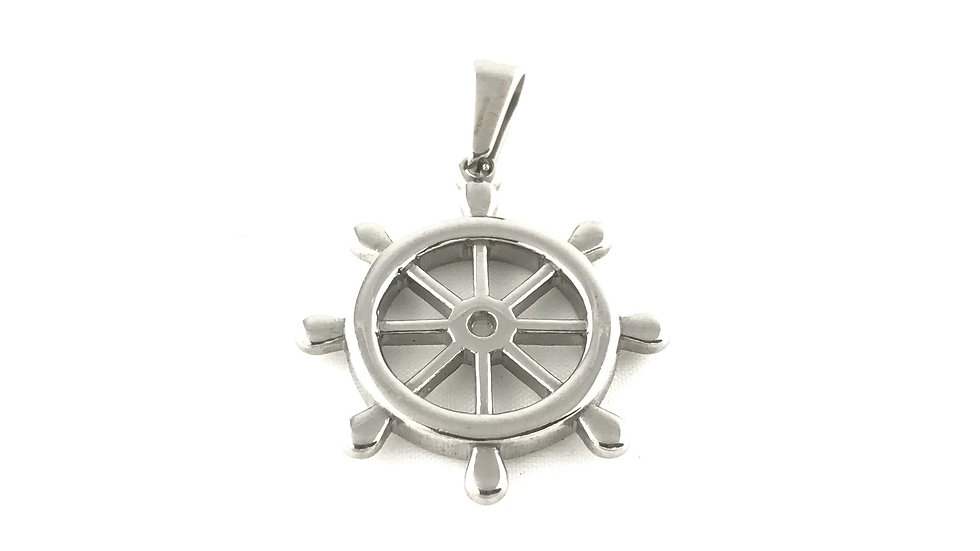 Boat Wheel Pendant 2