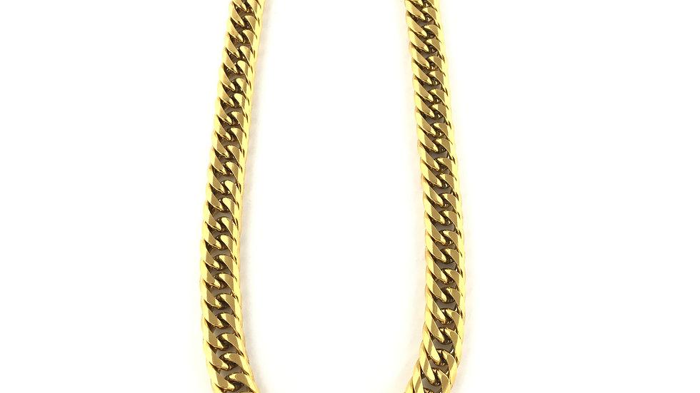 Gold 16MM Shaved Cuban Link