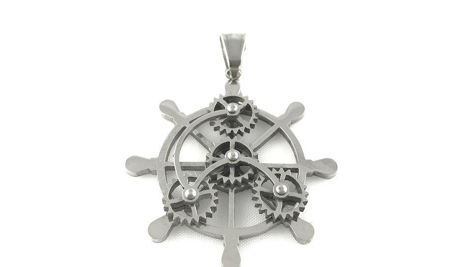 Boat Wheel Pendant 1