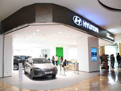 Launching Show Room Mobil Hyundai