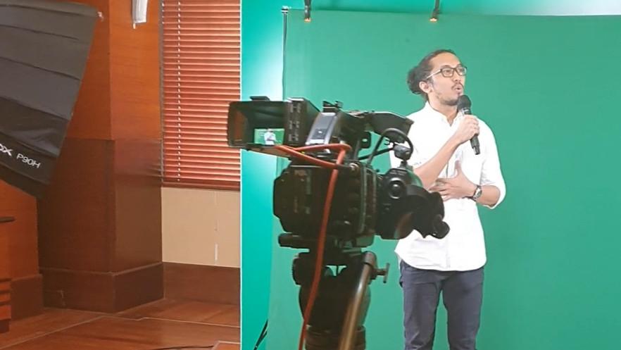 Gilang Bhaskara, Pertama Kali Stand Up Comedy Online Bareng Jemari
