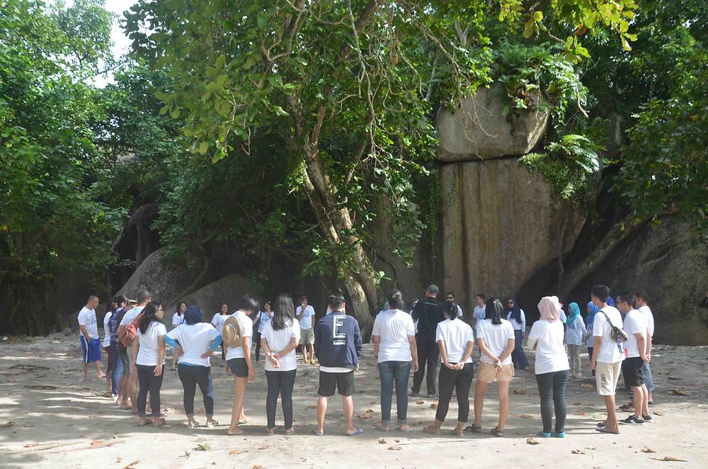 outbound wisata belitung