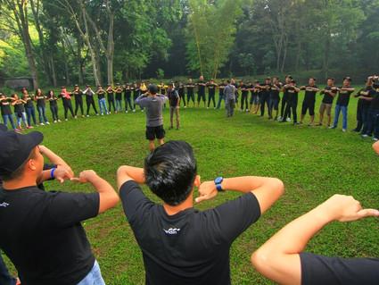 Team Building Bank Mandiri