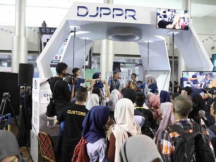 DJPPR Kemenkeu Ramaikan Ministry Goes To Campoes