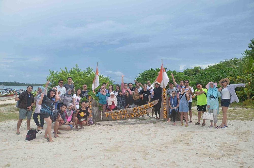 pulau gede kepayang wisata belitung