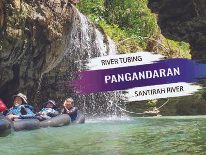 Seru Dan Eksotis, River Tubing Pangandaran